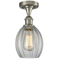 Innovations Lighting 516-1C-SN-G82-LED Eaton LED 6 inch Brushed Satin Nickel Semi-Flush Mount Ceiling Light Ballston