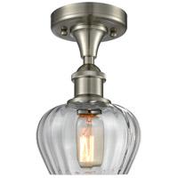 Innovations Lighting 516-1C-SN-G92-LED Fenton LED 7 inch Brushed Satin Nickel Semi-Flush Mount Ceiling Light