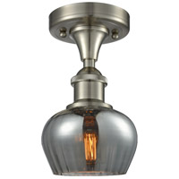 Innovations Lighting 516-1C-SN-G93-LED Fenton LED 7 inch Brushed Satin Nickel Semi-Flush Mount Ceiling Light