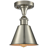 Smithfield 1 Light 7 inch Brushed Satin Nickel Semi Flush Mount Ceiling Light