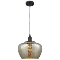 Innovations Lighting 516-1P-BK-G96-L Large Fenton 1 Light 11 inch Matte Black Mini Pendant Ceiling Light Ballston