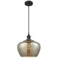 Innovations Lighting 516-1P-OB-G96-L-LED Large Fenton LED 11 inch Oil Rubbed Bronze Mini Pendant Ceiling Light