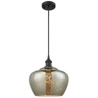Large Fenton 1 Light 11 inch Oil Rubbed Bronze Mini Pendant Ceiling Light