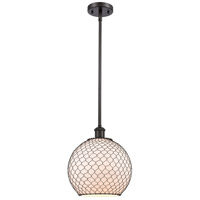 Innovations Lighting 516-1S-OB-G121-10CBK-LED Large Farmhouse Chicken Wire LED 10 inch Oil Rubbed Bronze Pendant Ceiling Light, Ballston photo thumbnail