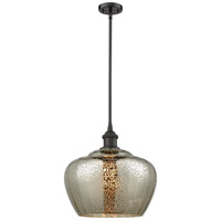 Innovations Lighting 516-1S-OB-G96L-LED Large Fenton LED 11 inch Oil Rubbed Bronze Pendant Ceiling Light