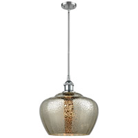 Innovations Lighting 516-1S-PC-G96-L-LED Large Fenton LED 11 inch Polished Chrome Pendant Ceiling Light Ballston