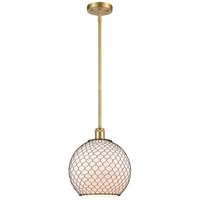 Innovations Lighting 516-1S-SG-G121-10CBK Large Farmhouse Chicken Wire 1 Light 10 inch Satin Gold Pendant Ceiling Light Ballston