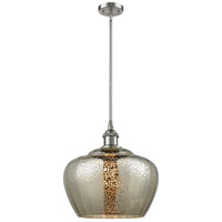 Innovations Lighting 516-1S-SN-G96L-LED Large Fenton LED 11 inch Brushed Satin Nickel Pendant Ceiling Light