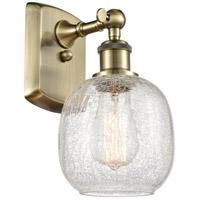 Innovations Lighting 516-1W-AB-G105 Belfast 1 Light 6 inch Antique Brass Sconce Wall Light, Ballston