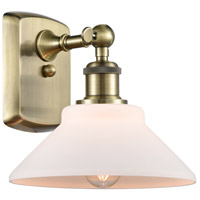Innovations Lighting 516-1W-AB-G131-LED Orwell LED 9 inch Antique Brass Sconce Wall Light Ballston