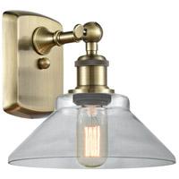 Innovations Lighting 516-1W-AB-G132 Orwell 1 Light 9 inch Antique Brass Sconce Wall Light, Ballston