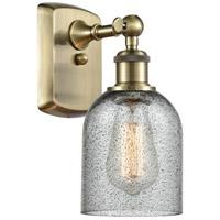 Innovations Lighting 516-1W-AB-G257 Caledonia 1 Light 5 inch Antique Brass Sconce Wall Light, Ballston