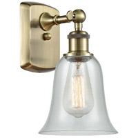 Innovations Lighting 516-1W-AB-G2812-LED Hanover LED 6 inch Antique Brass Sconce Wall Light, Ballston