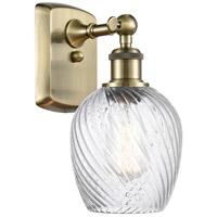 Innovations Lighting 516-1W-AB-G292 Salina 1 Light 5 inch Antique Brass Sconce Wall Light, Ballston