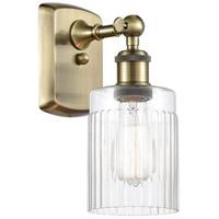 Innovations Lighting 516-1W-AB-G342 Hadley 1 Light 5 inch Antique Brass Sconce Wall Light, Ballston