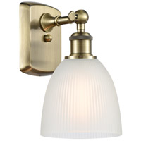 Cast Brass Castile Wall Sconces