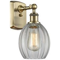Innovations Lighting 516-1W-AB-G82 Eaton 1 Light 6 inch Antique Brass Sconce Wall Light Ballston