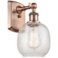 Innovations Lighting 516-1W-AC Bare Bulb 1 Light 5 inch Antique Copper Sconce Wall Light Ballston