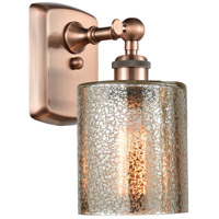 Innovations Lighting 516-1W-AC-G116-LED Cobbleskill LED 5 inch Antique Copper Sconce Wall Light Ballston