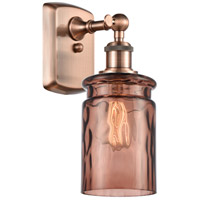 Innovations Lighting 516-1W-AC-G352-TOF Candor 1 Light 5 inch Antique Copper Sconce Wall Light, Ballston