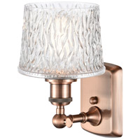 Innovations Lighting 516-1W-AC-G402 Niagra 1 Light 7 inch Antique Copper Sconce Wall Light Ballston