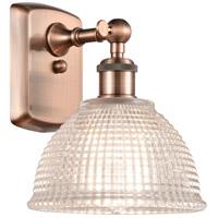 Innovations Lighting 516-1W-AC-G422-LED Arietta LED 8 inch Antique Copper Sconce Wall Light Ballston