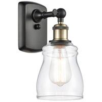 Innovations Lighting 516-1W-BAB-G392-LED Ellery LED 5 inch Black Antique Brass Sconce Wall Light Ballston