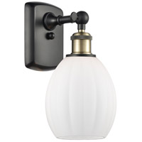 Innovations Lighting 516-1W-BAB-G81-LED Eaton LED 6 inch Black Antique Brass Sconce Wall Light Ballston