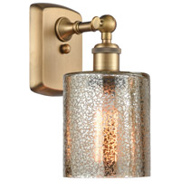 Innovations Lighting 516-1W-BB-G116-LED Cobbleskill LED 5 inch Brushed Brass Sconce Wall Light Ballston