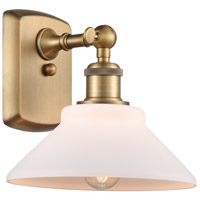 Innovations Lighting 516-1W-BB-G131-LED Orwell LED 9 inch Brushed Brass Sconce Wall Light Ballston