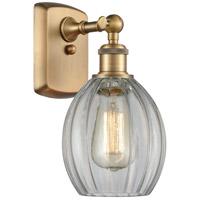 Innovations Lighting 516-1W-BB-G82-LED Eaton LED 6 inch Brushed Brass Sconce Wall Light Ballston
