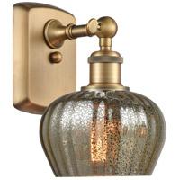 Innovations Lighting 516-1W-BB-G96-LED Fenton LED 7 inch Brushed Brass Sconce Wall Light Ballston