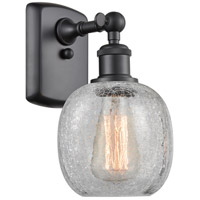 Innovations Lighting 516-1W-BK-G105 Belfast 1 Light 6 inch Matte Black Sconce Wall Light Ballston