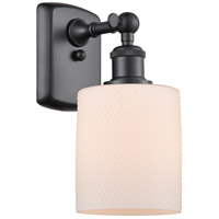 Innovations Lighting 516-1W-BK-G111 Cobbleskill 1 Light 5 inch Matte Black Sconce Wall Light Ballston