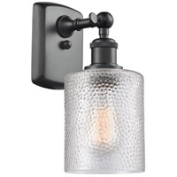 Cobbleskill LED 5 inch Matte Black Wall Sconce Wall Light