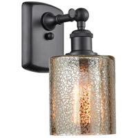 Innovations Lighting 516-1W-BK-G116 Cobbleskill 1 Light 5 inch Matte Black Sconce Wall Light Ballston
