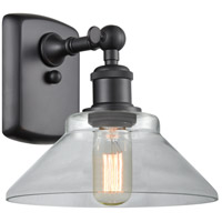 Innovations Lighting 516-1W-BK-G132 Orwell 1 Light 9 inch Matte Black Sconce Wall Light Ballston