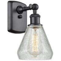 Innovations Lighting 516-1W-BK-G275-LED Conesus LED 6 inch Matte Black Sconce Wall Light Ballston