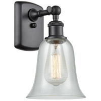 Innovations Lighting 516-1W-BK-G2812-LED Hanover LED 6 inch Matte Black Sconce Wall Light Ballston