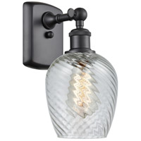 Innovations Lighting 516-1W-BK-G292 Salina 1 Light 5 inch Matte Black Sconce Wall Light, Ballston photo thumbnail