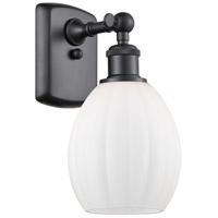 Innovations Lighting 516-1W-BK-G81 Eaton 1 Light 6 inch Matte Black Sconce Wall Light Ballston