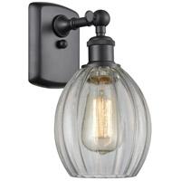 Innovations Lighting 516-1W-BK-G82 Eaton 1 Light 6 inch Matte Black Sconce Wall Light Ballston