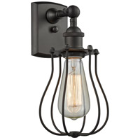 Innovations Lighting 516-1W-OB-513 Barrington 1 Light 6 inch Oiled Rubbed Bronze Wall Sconce Wall Light