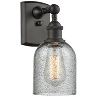 Innovations Lighting 516-1W-OB-G257 Caledonia 1 Light 5 inch Oil Rubbed Bronze Sconce Wall Light