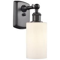 Innovations Lighting 516-1W-OB-G801-LED Clymer LED 4 inch Oil Rubbed Bronze Sconce Wall Light Ballston