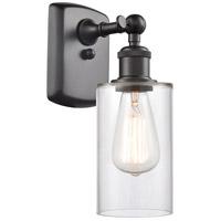 Innovations Lighting 516-1W-OB-G802-LED Clymer LED 4 inch Oil Rubbed Bronze Sconce Wall Light Ballston