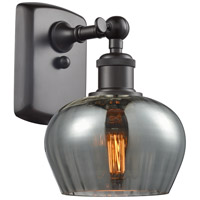 Innovations Lighting 516-1W-OB-G93-LED Fenton LED 7 inch Oil Rubbed Bronze Sconce Wall Light