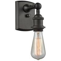 Innovations Lighting 516-1W-OB-LED Bare Bulb LED 5 inch Oil Rubbed Bronze Sconce Wall Light