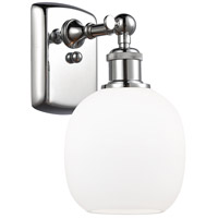 Innovations Lighting 516-1W-PC-G101-LED Belfast LED 6 inch Polished Chrome Sconce Wall Light Ballston
