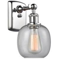Innovations Lighting 516-1W-PC-G104-LED Belfast LED 6 inch Polished Chrome Sconce Wall Light, Ballston